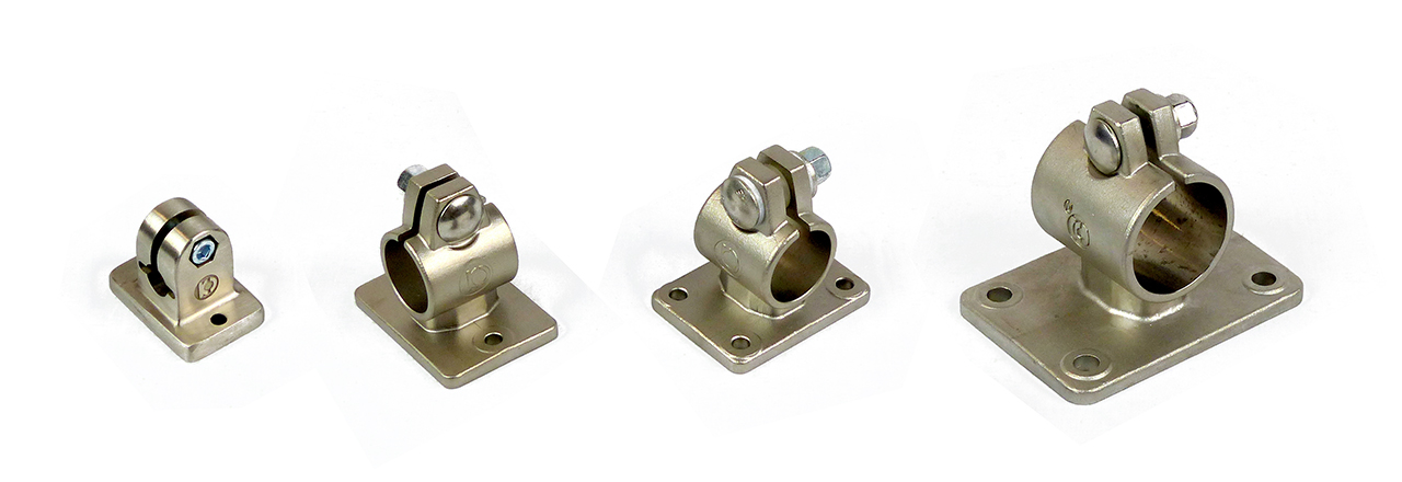 INOCON - Products - Clamps - Stainless Steel Flange Clamps