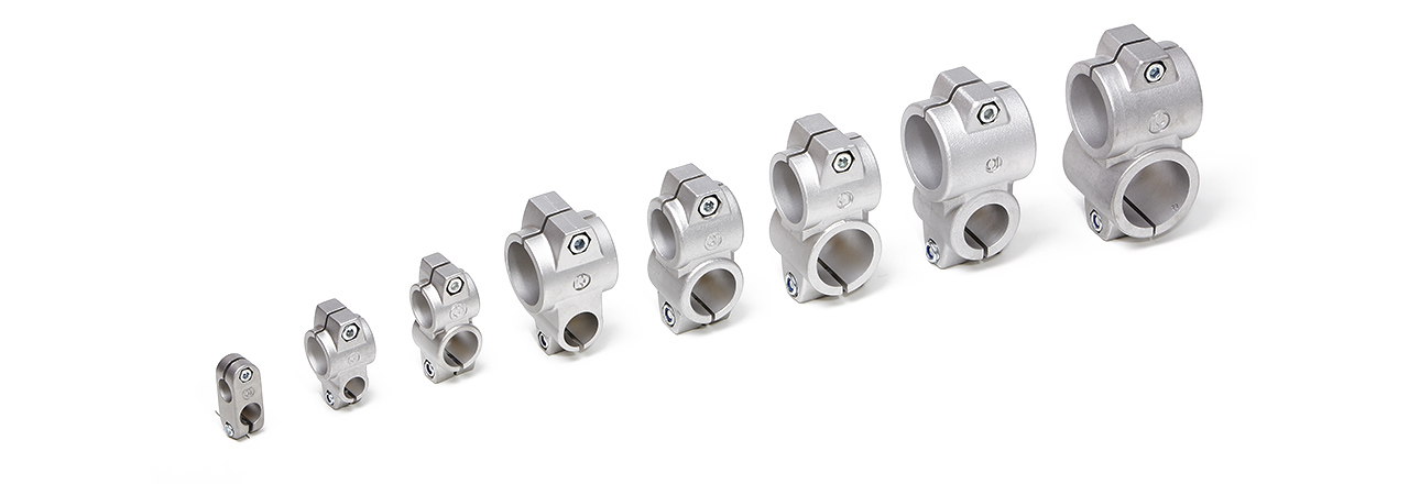 INOCON - Products - Clamps - Aluminium Cross Clamps