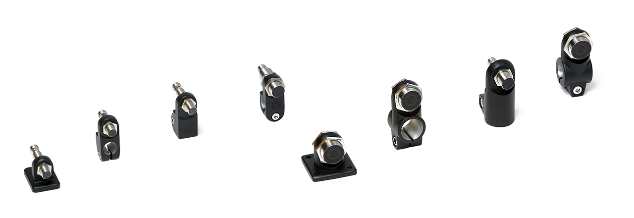 INOCON - Products - Clamps - Aluminium Sensor Holders