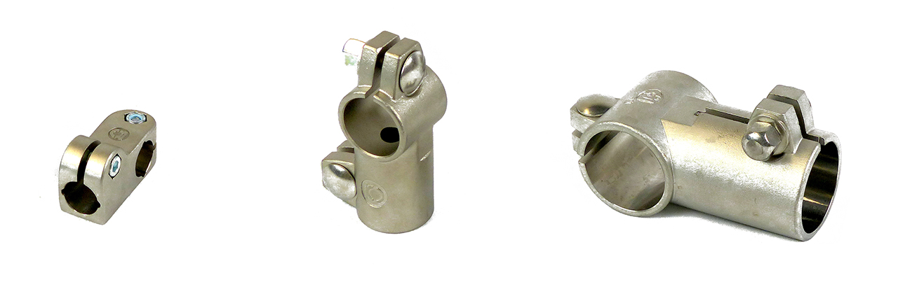 INOCON - Products - Clamps - Stainless Steel Angle Clamps